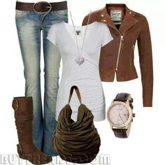 Fall outfit. ..love it all!!!