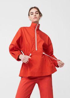 Impermeable blouse | MANGO