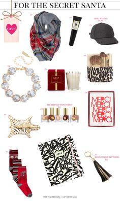 Gift Guide   Secret Santa