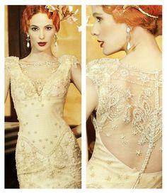 Art Deco Wedding Dress - YolanCris   Absolutely Gorgeous