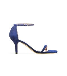 NAKED | Stuart Weitzman. #shoes #sandal #heels #stilletos #blue #chic #fashion #style #SS14 #alittleobsessedwithshoes http://sweitzman.com/NAKED_ULTRAMAR