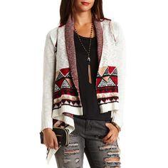 Aztec trendy cardigan