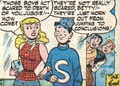 From Weight for Me, Archie's Pal Jughead #27 (1954).