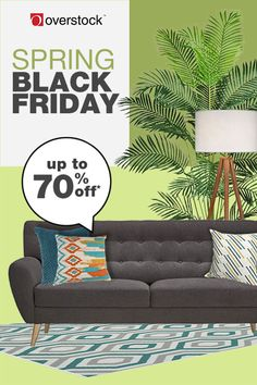 Start saving up to 70% off on home essentials during Overstock's Spring Black Friday Sale! With over 600,000 deals, Overstock is dedicated to offering all things home, all for less. Hurry! Sale ends Thursday, May 4th.