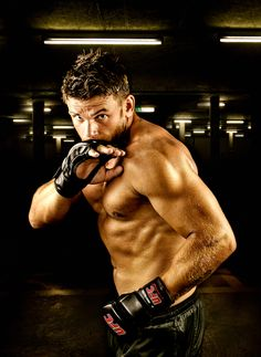 Fighter Christian Merk - could be my fictional fighter Armie in my new Ultimate series. :-)