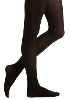 Tights for Every Occasion in Black by Tabbisocks - Black, Solid, Top Rated on Modcloth. Lots of other colors. $14.99