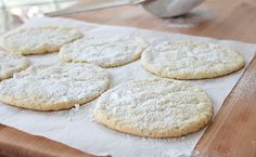 Horchata Cookies; going to have to try this 8O