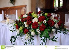rose table centerpieces - Google Search