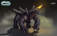 More Larry Quach Godzilla 2014 Concept Art