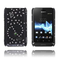 Firenze (Sort) Sony Xperia Tipo Deksel