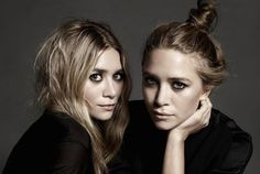 Ashley and Mary-Kate Olsen by Amy Troost Source WSJ Magazine