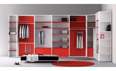 New closet madera minimalista Ideas Attic Bedroom Closets, Bedroom Wardrobe, Wardrobe Closet, Bedrooms, Small Deep Closet, Small Closets, Walk In Closet Design, Closet Designs, Closet Chandelier