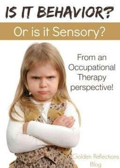 it Behavior or Sensory Problems? A 5 Week Series Is your child's behavior really a behavior problem or could it be an underlying sensory processing problem? Autism Sensory, Sensory Activities, Sensory Play, Sensory Diet, Family Activities, Sensory Therapy, Sensory Integration Therapy, Childcare Activities, Physical Activities
