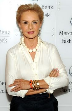 Why we wear white shirts better than a 20-year-old: There's a very good reason designer Carolina Herrera's trademark look is a white shirt: there's nothing as timeless and flattering on a mature woman. She wears hers with everything from khaki skirts to black pants for a look that's elegant and flattering; it takes some fashion maturity to carry off such a basic item with authority and that's something only a women over 40 can do