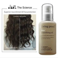 Have you seen Living Proof's NEWEST product?! Nourishing Oil contains a specific oil blend that mimics the fatty acids found in hair's natural oil — so it's an extra dose for the hair that needs it most. It works to nourish and smooth the texture of rough, coarse hair without weighing it down. Nourishing Oil is fast-absorbing, residue-free & contains the patented OFPMA technology to weightlessly block humidity, leaving hair smooth and manageable! Ask your ‪#‎summitsalonservices‬ Sales Rep…
