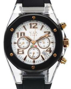 shop for VIP TIME ITALY CRD- RG-04 Chronograph Unisex Watch on leftbankfashions.com