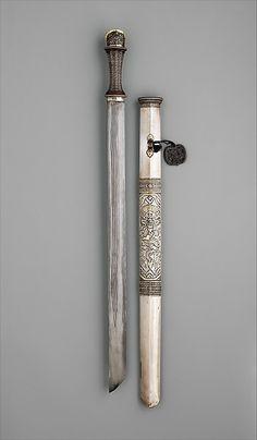 Sword (ca. 18th–19th Century CE Bhutanese Weapon) (The Metropolitan Museum of Art, New York, USA)