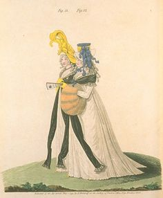 Gallery of Fashion, Figures 51 and 52, May 1795