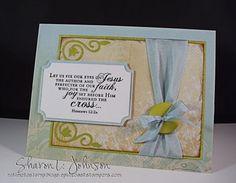 Splitcoaststampers FOOGallery - CAS Easter Card