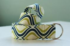 Fabric Belt Tutorial | One Crafty Home