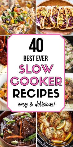 The best healthy slow cooker recipes and healthy slowcooker meals for a crowd! If you're in the need of dump and go slow cooker recipes, I have some amazingly easy slow cooker recipes to share with you. There's chicken, keto, vegetarian, vegan, beef and pork recipes for all occasions. On top of that, there awesome slow cooker meals slow cooker dinners, best slow cooker chicken recipes and even slow cooker pot roast recipes… Healthy Slow Cooker, Slow Cooker Soup, Slow Cooker Chicken, Pork Chops And Potatoes, Stewed Potatoes, Slow Cooker Recipes, Dump Meals, No Cook Meals, Mexican Food Recipes