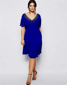 Nice royal blue summer dresses 2018
