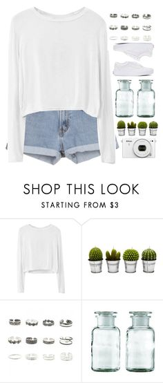 """""""Untitled #89"""" by rarranere ❤ liked on Polyvore featuring Billabong, Retrò, Vans and Nikon"""