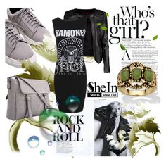 """""""Shein 3-6"""" by lejlamoranjkic ❤ liked on Polyvore featuring Boohoo and Palm Beach Jewelry"""