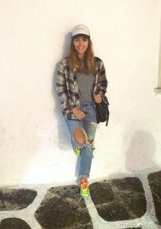 Feels like autumn coming .. #brrr ft. #asics| #zara #zaradaily| #stellamccartney| #kisterss #hat||#vintage|#greece #summer #opstyle #love #fashion