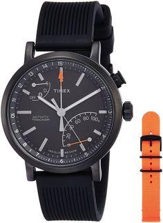 Buy Timex Metropolitan Analog Black Dial Men's Smart Watch - TWG012600AA Online at Low Prices in India - Amazon.in