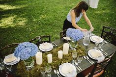 Beautiful outdoor decor. Styling done by Brooke with Savoir Faire Events
