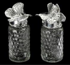 Arthur Court Butterfly Salt & Pepper Shakers