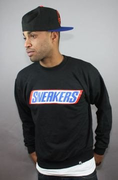 Fully Laced The Fully Laced Sneaker Bar CrewneckBlack : Karmaloop.com - Global Concrete Culture