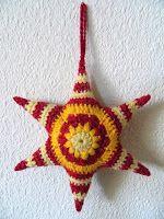 Meu Mundo Craft: Estrelas em crochê