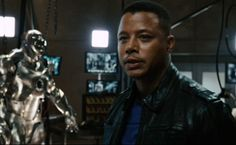 Please LIKE this picture if you wish Terrence Howard got to go on as War Machine in the Iron Man franchise.