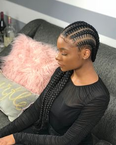 79 Best straight back braids images in 2019