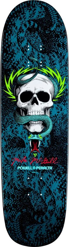 "Mike McGill ""snake skin"" deck"