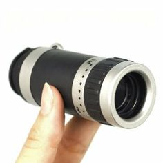 8X Zoom Telescope Lens + Clear Case for Samsung Galaxy Note2 II N7100 DC282