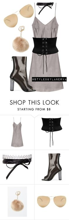 """""""Untitled #808"""" by amanda-lanerva ❤ liked on Polyvore featuring Fallon, LA: Hearts and Loewe"""
