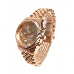 #cadeau #tip #Ernest #horloge Runway in prachtig rose goud! www.ernest-horloge.nl