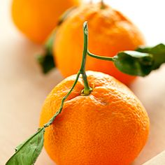Tangerines. Haven't had a truly good one since Brazil, though! :(
