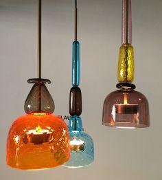 A herança do murano inspirou as luminárias da dupla Cristiana Giopato e Christopher Coombes, da Giopato