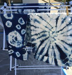 DIY Shibori – Indigo dyeing fabric – Part 1