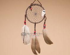 "Native American Dreamcatcher 4"""" -Black (6-52)"