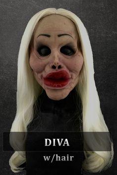 botched half mask silicone mask by Immortal Masks Professional Halloween Masks, Immortal Masks, Horror Masks, Silicone Masks, Female Mask, Half Mask, American Horror, Halloween Ideas, Halloween Face Makeup