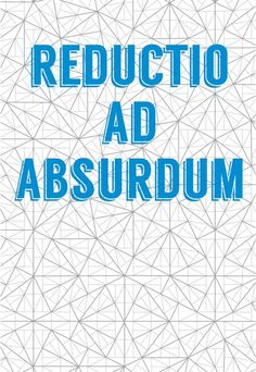 Science art Mathematics Reductio ad absurdum & by frameitposters