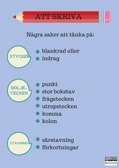 Learn Swedish, Swedish Language, Information Literacy, Future Jobs, Writing Strategies, Literacy Skills, Classroom Inspiration, Writing Paper, Teaching Materials