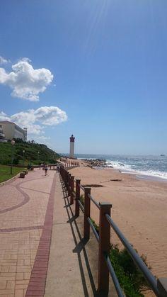 Lighthouse in Umhlanga Kwazulu Natal, Lighthouse, South Africa, Sidewalk, October, Holiday, Bell Rock Lighthouse, Light House, Vacations
