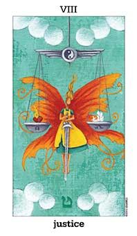March 4 Tarot Card: Justice (Sun and Moon deck) You are responsible for the actions, words, and energies you put out to the world. Consider the consequences of your current behaviors ~ sooner or later, it will all come back to you