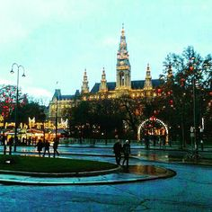Christmas time in Vienna, Austria